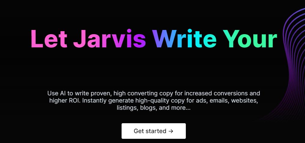 Conversion Ai ( Now jarvis) - Best AI meta description generator
